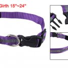 Nylon Adjustable Dog Collar Leashes w 6 Red Yellow LED