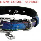 Colored Faux Leather Band Sz M Chic Collar for Pet Dog