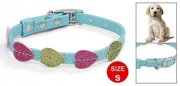 Mini Dog Puppy Doggie Doggy Collar Belt Glittering with 3 Buckle Set
