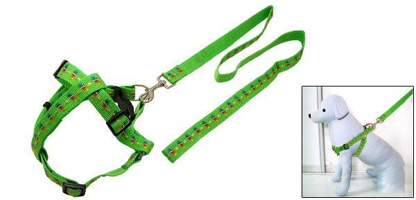 Adjustable Pet Dog Pulling Harness with Leash Medium