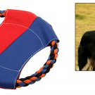 Training Catching Dog Puppy Pet Rope Frisbee Flyer Toy