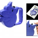 9ft Automatic Retractable Leash for Small Dog Blue