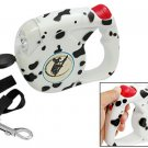 Luxury Flex Retractable Dog Leash with Dog Design 4.5M
