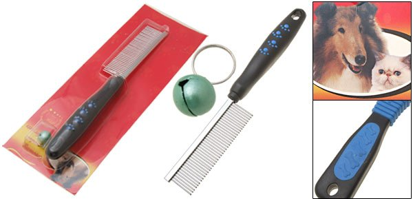Pet Cat Dog Professional Coat Grooming Comb with Fine Tooth