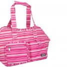 Pet Dog Cat Carrier Travel Tote Carrying Carry Bag with Stripe Pattern