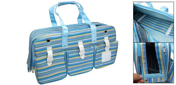 Stylish Pet Dog Carry Travel Carrier Tote Carrying Bag w/ Ventilation Mesh