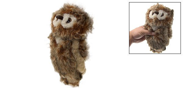 Plush Squeaky Sound Owl Doll Dog Pet Chew Stuffed Toy