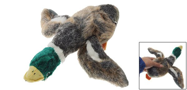 Soft Squeaky Widgeon Sound Stuffed Plush Toy for Dog