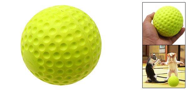 Cat Dog Pet's Push Play Ball Rough Tough Ball Gift
