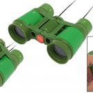 Kids Children 10 x 30mm Compact Mini Vision Scope Binoculars Lens + Strap