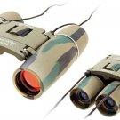 Mini Camouflage Sports Outdoor Binoculars 10x22