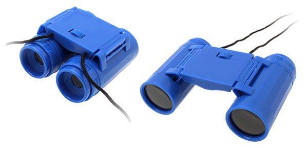 Min Pocket Portable 2.5 x 26 Binoculars w Black Strap