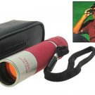 Sporting Camping 6X Monocular Telescope - Red