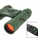 Binoculars 10x25 Telescope for Hiking/Camping/Tour/Venture - Army Green