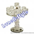 86930 - CRYSTAL CANDLESTICKS 9 BRANCH 26 CM