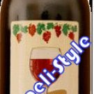 "WINE_449  KOSHER RED WINE 750ML ""ONEG SHABAT"" BY HAKORMIM WINERY ISRAEL judaica gift from israel"