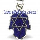 80590 -COLOR CHANGE PENDANT-HAMSA, JUDAICA GIFT FROM ISRAEL