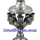 FREE SHIPPING! 40750 - BRASS WINE FOUNTAIN / WINE DIVIDER - JERUSALEM-TRAY