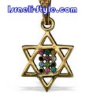 FREE SHIPPING!!90004-GOLDFILLED PENDANT- MAGEN DAVID- CHOSHEN jewelery
