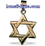 FREE SHIPPING!!90007-GOLDFILLED MAGEN DAVID-star of david,hebrew jewelry judaica