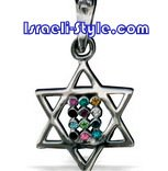 FREE SHIPPING!!90008-GOLD FILLED MAGEN DAVID-star of david,hebrew jewelry judaica