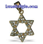 FREE SHIPPING!!90009-GOLD FILLED MAGEN DAVID-star of david,hebrew jewelry judaica