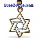 FREE SHIPPING!!90010-GOLD FILLED MAGEN DAVID /star of david,hebrew jewelry judaica