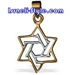 FREE SHIPPING!!90010-GOLD FILLED MAGEN DAVID /star of david,hebrew jewelry judaica