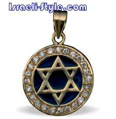 FREE SHIPPING!! 90016-GOLD FILLED MAGEN DAVID /star of david,hebrew jewelry judaica
