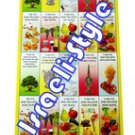 9465 -(SET OF6)STICKERS OF BLESSINGS/ jewish toys for kids children