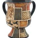 85554 - CERAMIC CUP- MOSAIC TEXTURE, 16 CMnetilat yadaim