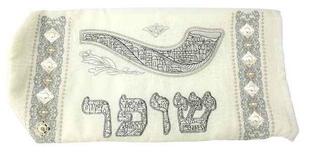 61140 - C DECORATED BAG FOR SHIFAR /SHOFAR 20*40CM JUDAICA GIFT FROM ISRAEL