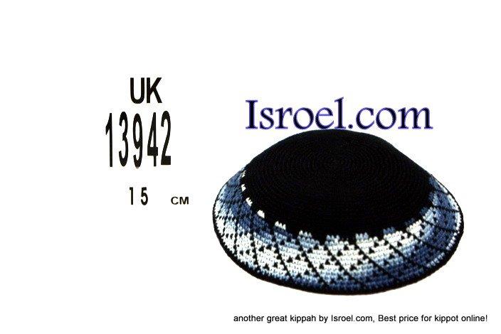 13942 -KIPPAH SRUGA ,kippah man, yarmulka kippahs for sale,klipped kippahs, kippah designs,KIPA