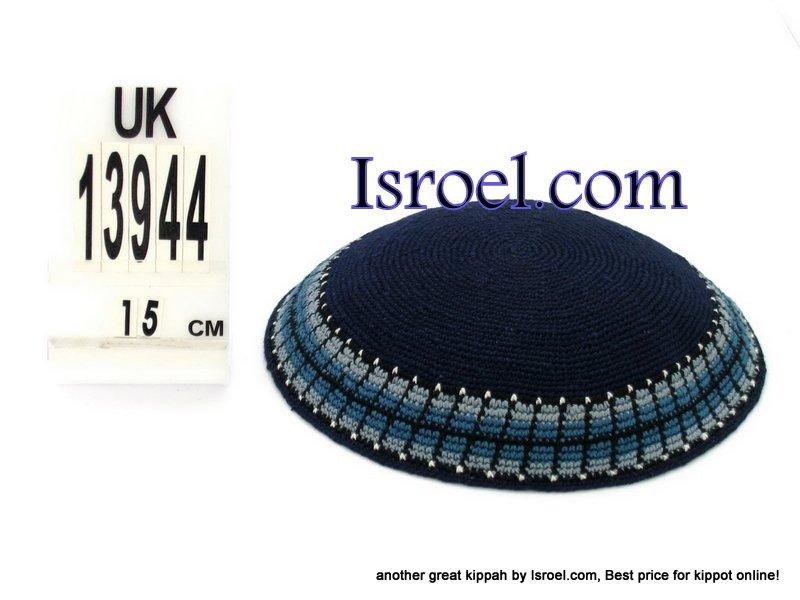 13944 -KIPPAH SRUGA ,kippah man, yarmulka kippahs for sale,klipped kippahs, kippah designs,KIPA