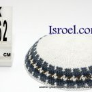 13962 -KIPPAH SRUGA ,kippah man, yarmulka kippahs for sale,klipped kippahs, kippah designs,KIPA