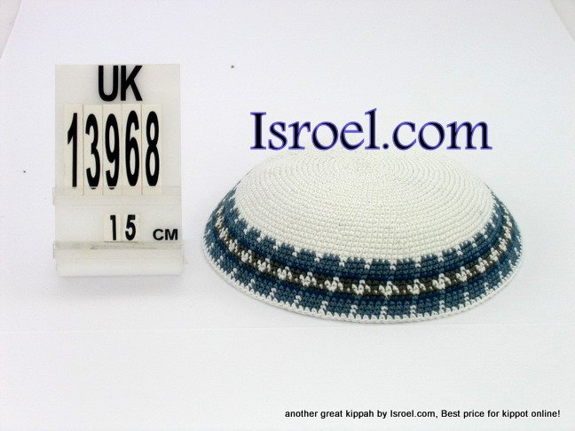 13968 -KIPPAH SRUGA ,kippah man, yarmulka kippahs for sale,klipped kippahs, kippah designs,KIPA
