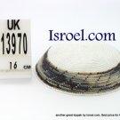 13970 -KIPPAH SRUGA ,kippah man, yarmulka kippahs for sale,klipped kippahs, kippah designs,KIPA