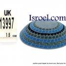 13997-BUY KIPPAH- PATTERNS ,kNITTED KIPA, yarmulka kippahs for sale, kippahs, kippah designs,KIPA