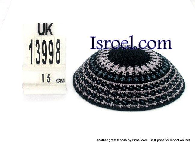 13998-BUY KIPPAH- PATTERNS ,kNITTED KIPA, yarmulka kippahs for sale, kippahs, kippah designs,KIPA