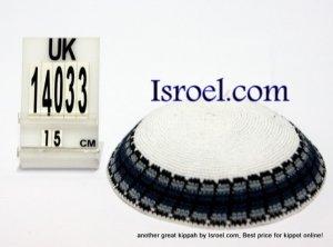 14033-CHEAP KIPPAHS,DISCOUNT KIPPOT ,KNITTED KIPA, yarmulka kippahs for sale, kippah designs,KIPA