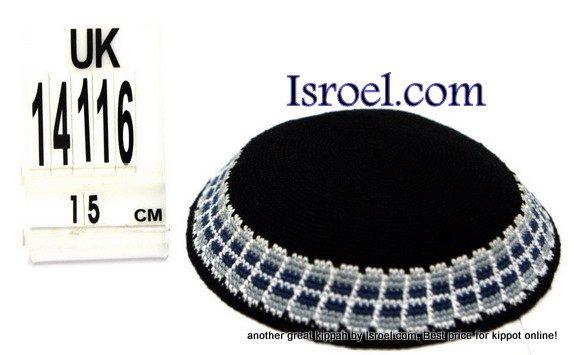 14116-CHEAP KIPPAHS,DISCOUNT KIPPOT,KNITTED KIPA, yarmulke kippahs for sale,designs A KIPPAH designs