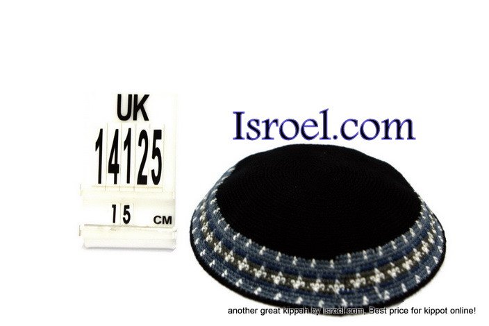 14125-CHEAP KIPA,DISCOUNT KIPPOT,KNITTED KIPA, yarmulke kippahs for sale,designs A KIPPAH designs