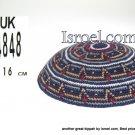 14848-knitted kippahs, kippahs for weddings, kippahs,kippa, kippot, cheap kippahs,bar mitzvah kippah