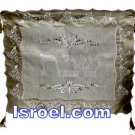 UK60145 - CHALLAH COVER BORDER LACE, Isroel.com best judaica store online