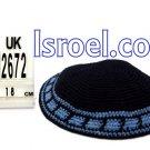 12670-CHEAP KIPA,DISCOUNT KIPPOT,KNITTED KIPA, yarmulke kippahs for sale,designs A KIPPAH designs
