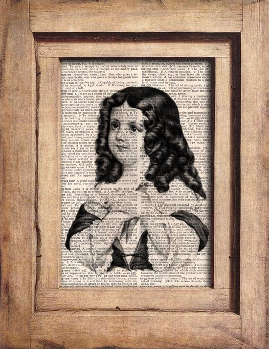 Art Print, Vintage, GIRL, Dictionary Page Print 0086