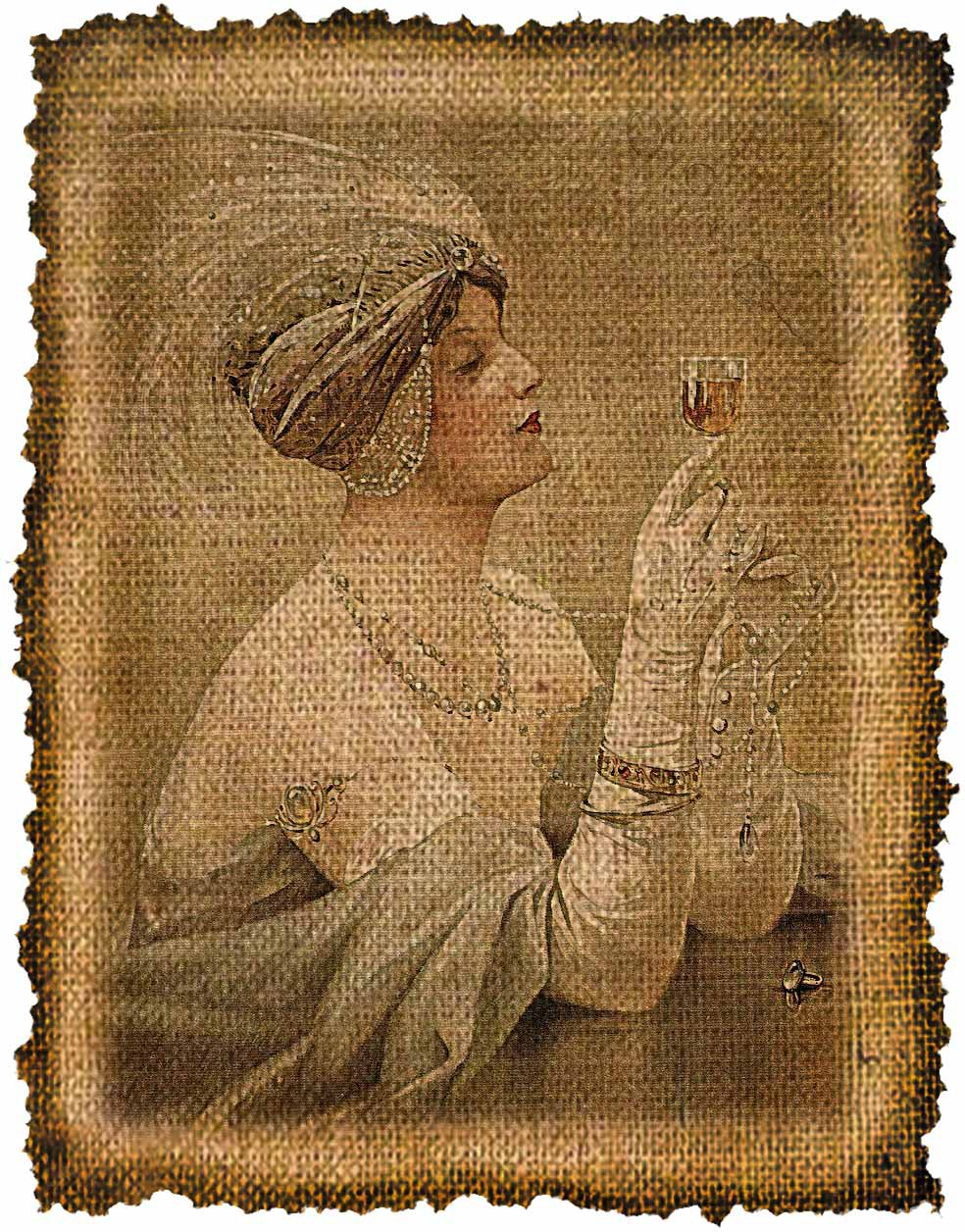 Vintage , Altered, Printable, Iron On, Ephemera, Digital Image No. 450