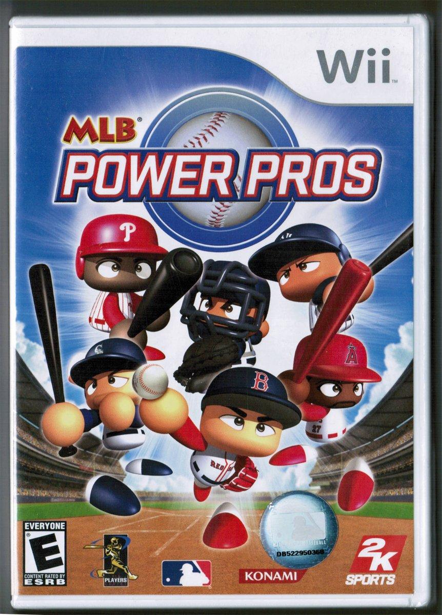 MLB Power Pros - Wii (2007)