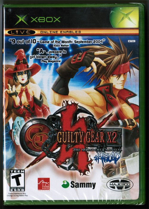 Guilty Gear X2: The Midnight Carnival # Reload - Original XBOX (2004)