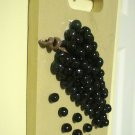 polymer clay grape cluster # 356
